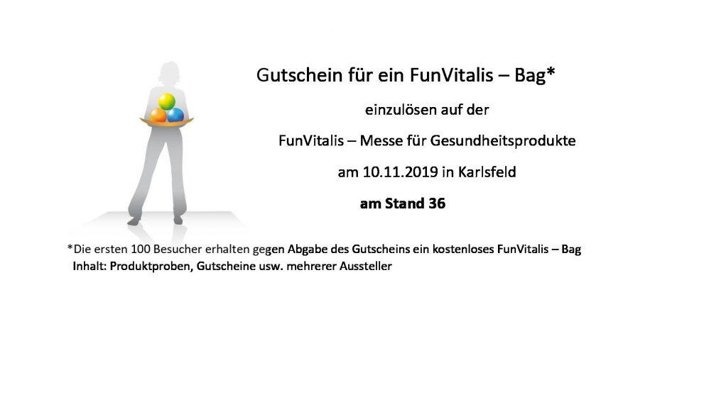 Hol Dir das FunVitalis – Bag
